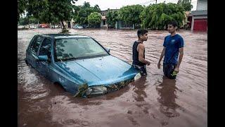 Estado de emergencia en Sinaloa, México por graves inundaciones