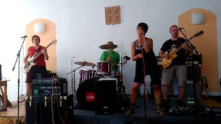 Video Fire and Water (Free) covered by Free Co Band
