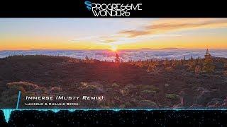 Lumidelic & Emiliano Secchi - Immerse (Musty Remix) [Music Video] [Progressive House Worldwide]