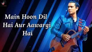 Aawargi Lyrics | Jubin nautiyal | The Dark Side Of   - YouTube