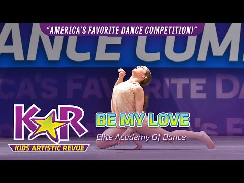 """Be My Love"" from Elite Academy Of Dance"