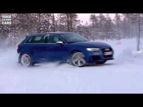 Fahreindruck: Der neue Audi RS3 2015 - Driften im Schnee - Vollgas auf der Landstrasse