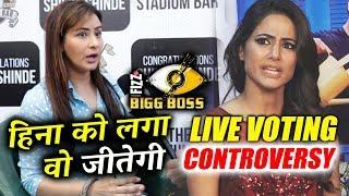 Shilpa Shinde EXPOSES Hina Khan | Bigg Boss 11 Finale LIVE VOTING