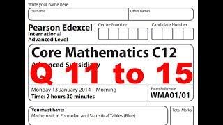 core mathematic c34 jan 2014