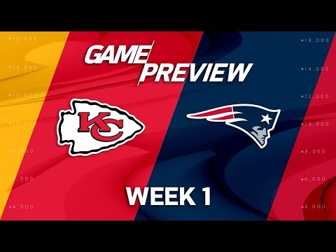 Kansas City Chiefs vs. New England Patriots | Week 1 Game Preview | NFL Playbook