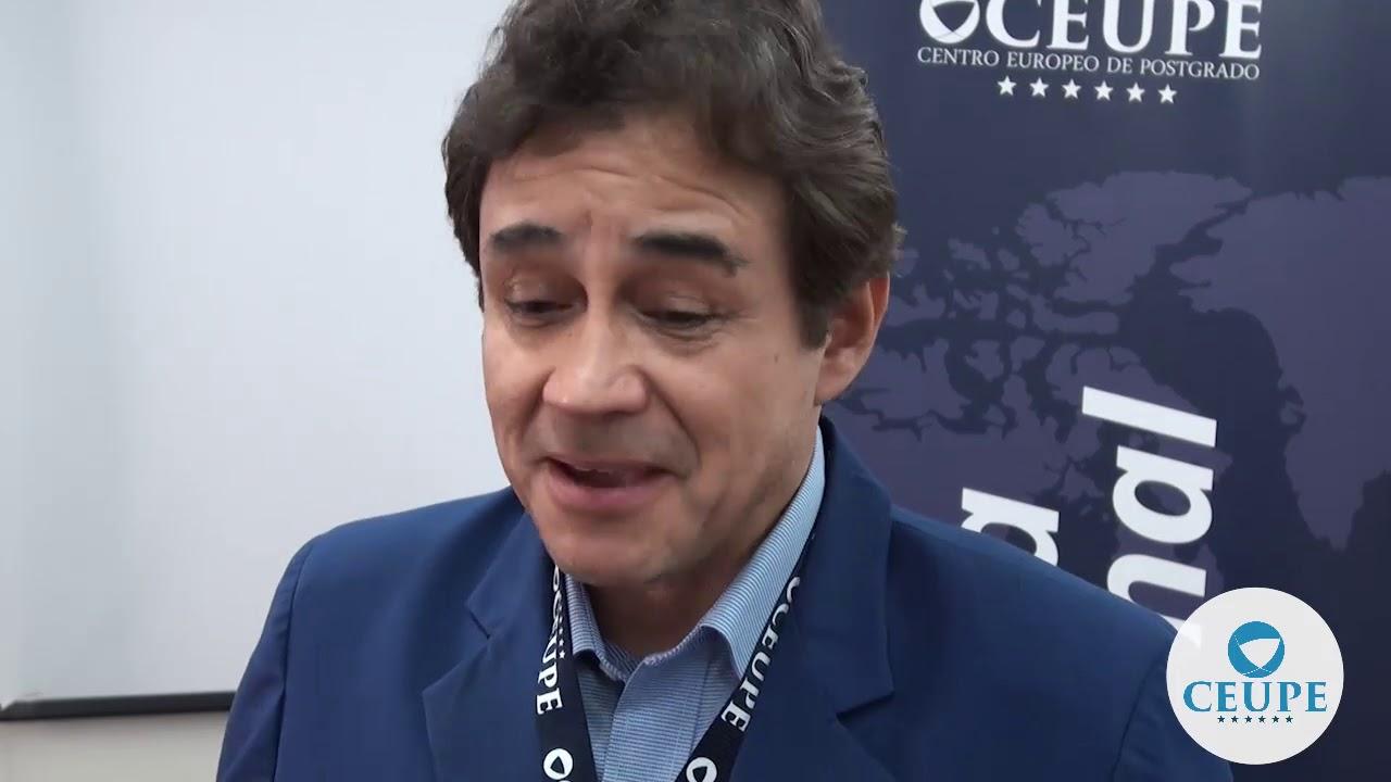Óscar Tapia, alumno de la Semana Internacional y del Máster en Corporate Compliance