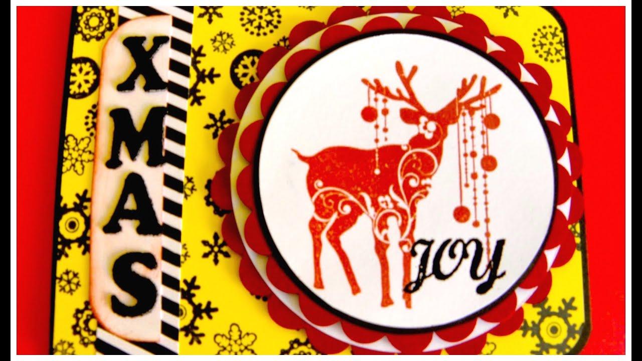 Reindeer Card - Tarjeta Navidad Reno