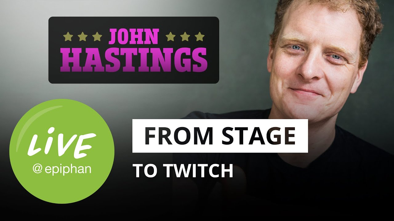 From stage to Twitch: chatting with comedian John Hastings thumbnail