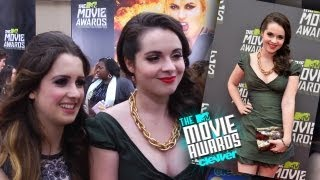 Ванесса Марано, Laura & Vanessa Marano Interview - 2013 MTV Movie Awards