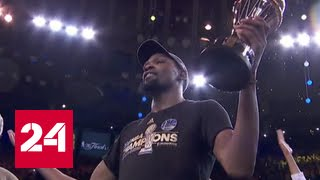 "Баскетболисты ""Голден Стэйт"" - чемпионы NBA"