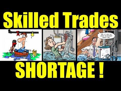Skilled Trade Shortage / Rant