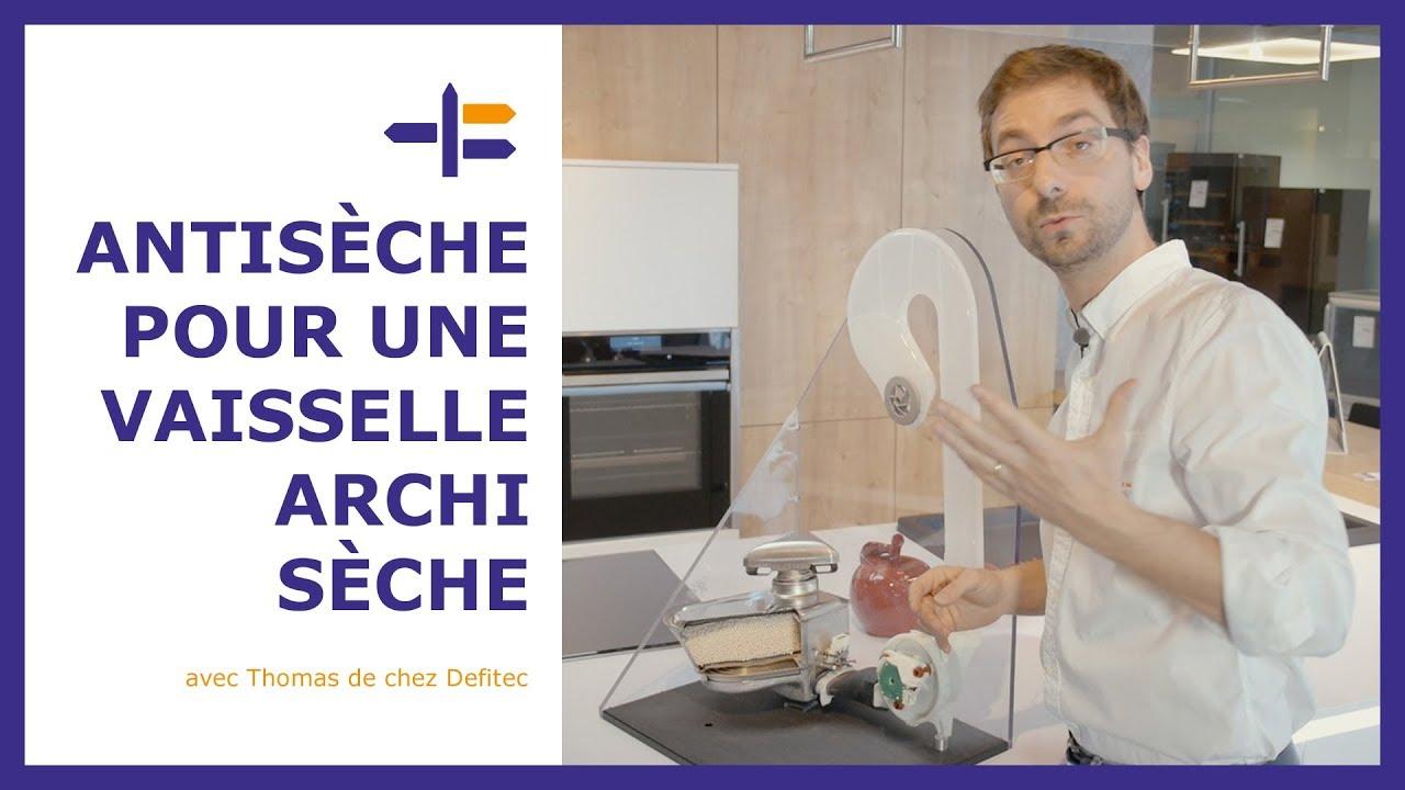 Cette façon de sécher la vaisselle est impressionnante : la zeolite façon