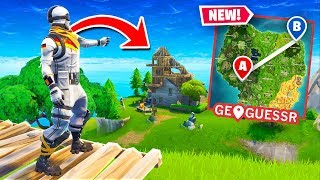Can You GUESS Where I Am In Fortnite? (GeoGuessr)