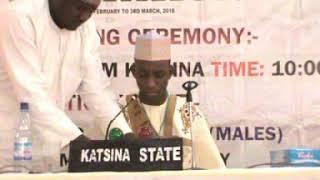 2018 Nigerian Musabaka: Katsina 10 Hizb Male Participant