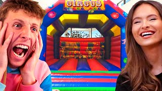 I Put a Bouncy Castle in My House