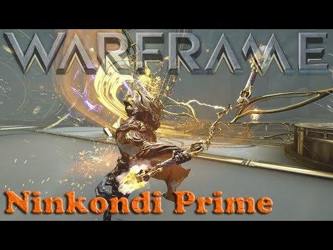 Warframe - Ninkondi Prime