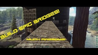 Ark Tree House Bridge And Wall Building   Ark Survival Evolved