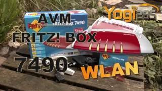 AVM FRITZ! Box 7490: WLAN von A bis Z