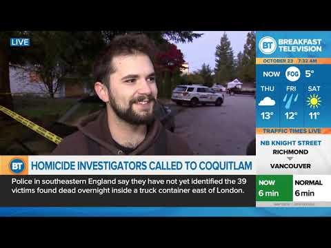Homicide investigators called to Coquitlam