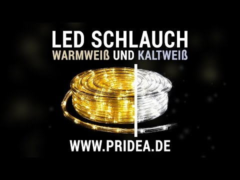 LED Lichtschlauch Warmweiß und Kaltweiß | Neuheit 2016