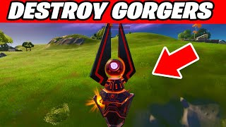 how to Destroy Gorgers Fortnite - ALL GORGERS LOCATIONS