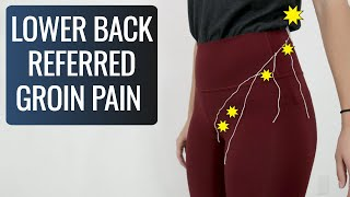 Your back is cause of your groin/ hip pain. Here's how