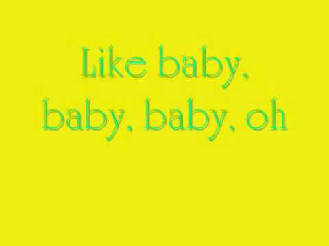 Justin Bieber Baby Lyrics Ft. Ludacris
