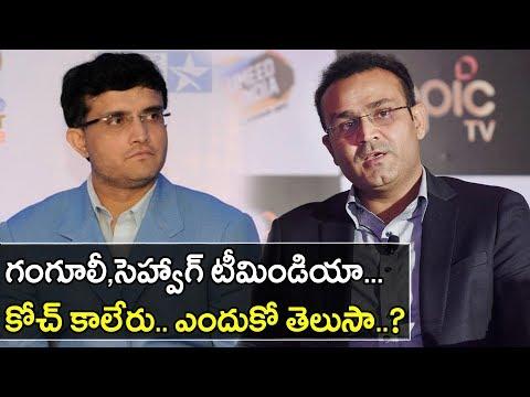 Why Ganguly And Sehwag Can't Become Teamindia Head Coach || Oneindia Telugu