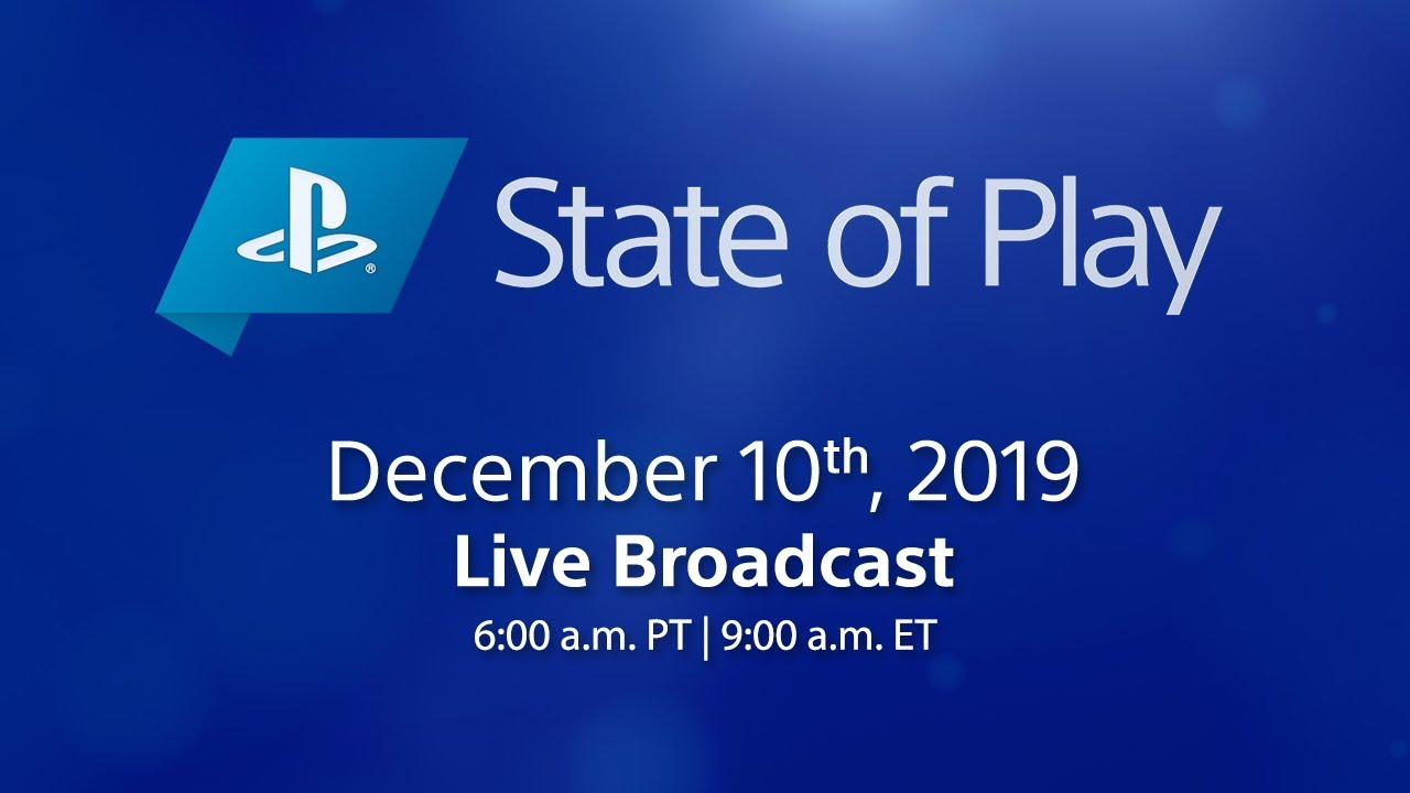 State of Play Airs Live Tuesday December 10