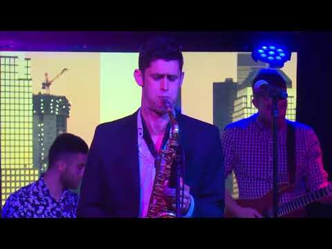 Just Sax.  One of my shows.  Dance music fronted by a saxophone.