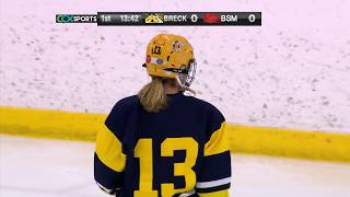Breck Vs. Benilde-St. Margaret's Girls Hockey
