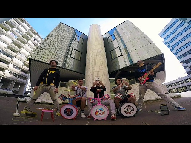 EYE OF THE TIGER – SURVIVOR // ROCK'N'TOYS SESSIONS #21 – THE WACKIDS feat. FILLS MONKEY