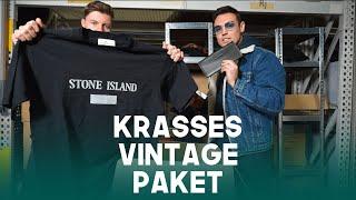 Wir kaufen eine unfassbare Vintage Mystery-Box ( Designer Edition - Balenciaga, Stone Island )