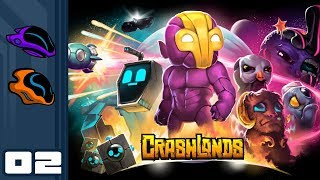Let's Play Crashlands - Switch Gameplay Part 2 - Nightstomped