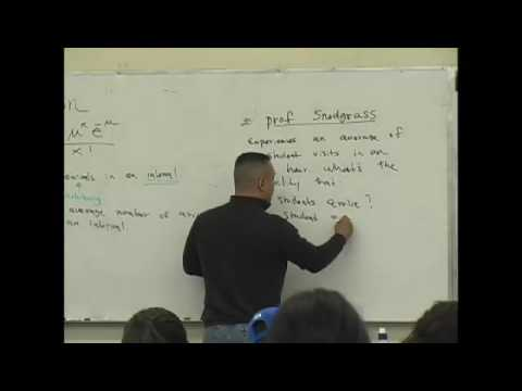 Daniel judge- Statistics Lecture 11 part 1