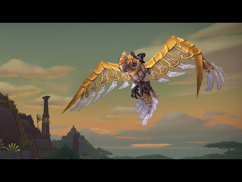 Earn Flying in World of Warcraft 8.2 When Pathfinder Part 2 Arrives