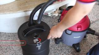 Metal Ash Cleaner with HEPA