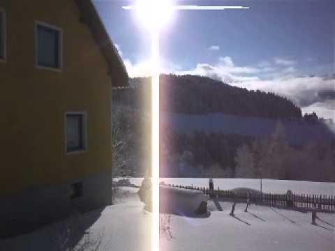 Winter am Bauernhof Pension Juri