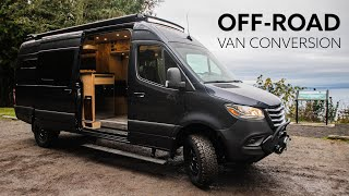 SERIOUS OFF-ROAD 4x4 Mercedes Sprinter VAN CONVERSION 🚐 // ULTIMATE ADVENTURE HOME ON WHEELS ⛰� by Nate Murphy