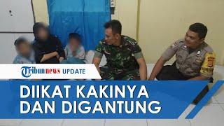Viral Video Anak Laki-laki yang Kakinya Digantung oleh Ibunya, Polres Banda Aceh Beri Keterangan
