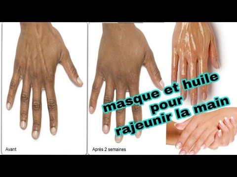 Les masques retirant la rougeur sur la personne
