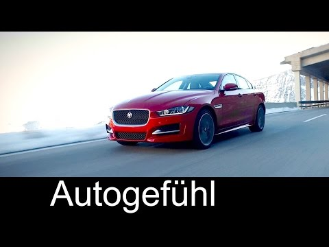 New Jaguar XE 2.0d now with AWD and big infotainment screen update - Autogefühl