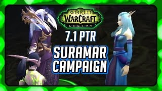 WOW Legion 🌟 Stellagosa is Leying Valtrois' Lines in 7.1 Suramar Campaign