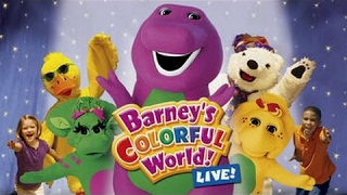 Barney and Friends for Childrens, Barney & Friends Episode: Barney's Colourful World Live