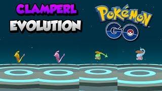 Clamperl  - (Pokémon) - CONSIGO TODAS LAS EVOLUCIONES DE CLAMPERL SHINIES Y NORMALES en Pokémon GO