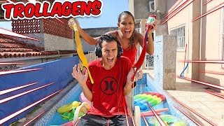 DESAFIO DO TROCA COM TROLLAGENS! - ÉPICO - KIDS FUN