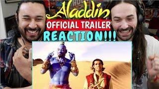 ALADDIN Official TRAILER   REACTION!!!