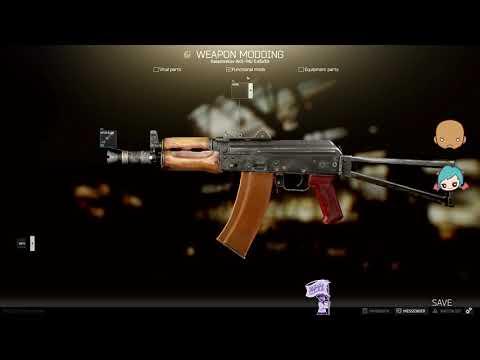 AKS-74U Customization (Loyalty Level 1) Escape From Tarkov