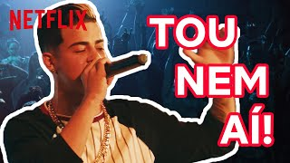 "MC Doni Canta ""Te Amo Sem Compromisso"" Durante Show | Sintonia | Netflix"