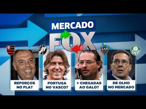 Fla, Galo, Palmeiras, Vasco e outros podem ganhar REFORÇOS! A janela abriu! Veja no Mercado FOX